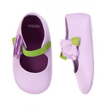 Flower Stem Crib Shoe Gymboree