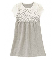 Falling Dots Sweater Dress Gymboree