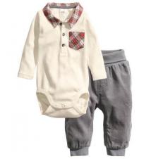Bodysuit and Corduroy Pants H&M