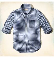 Clobberstones Check Shirt Hollister