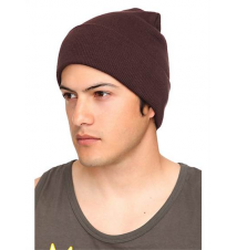 Brown Watchman Beanie Hot Topic
