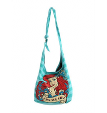 Disney The Little Mermaid Kiss The Girl Hobo Bag Hot Topic