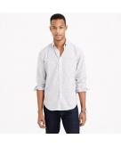 Slim vintage oxford shirt in n..