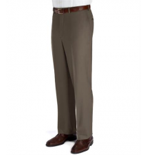 Executive Wool Gabardine Plain Front Trouser Extended Sizes JoS. A. Bank