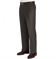 Business Express Pleated Front Trousers- Sizes 44-48 JoS. A. Bank