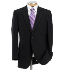 Executive 2-Button Wool Suit with Pleated Front Trousers Regal Fit JoS. A. Bank