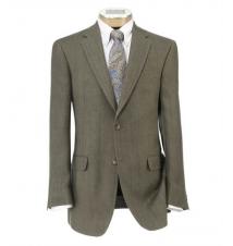 Tropical Blend 2-Button Linen/Silk Sportcoat JoS. A. Bank