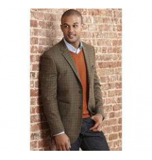 Windowpane Blazer Johnston & Murphy