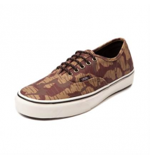 Vans Authentic Waxed Skate Shoe Journeys