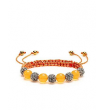 Pave Beaded Friendship Bracelet Juicy Couture