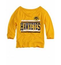 Iowa Hawkeyes Sweatshirt Tee Justice