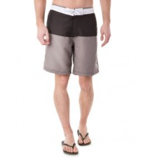 Color Block Waistband Swim Shorts