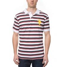 Stripe Big Logo Polo Shirt