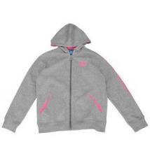 adidas Originals Fleece Full Zip Hoodie - Girls' Grade School Kids Foot Locker