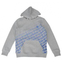 adidas Originals Trefoil Print Hoodie - Boys' Grade School Kids Foot Locker
