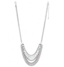 Mixed chain & stone necklace by Lane Bryant Lane Bryant