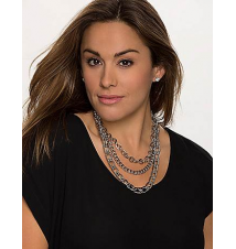 3-in-1 Status link necklace by Lane Bryant Lane Bryant