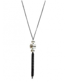 Block tassel necklace by Lane ..