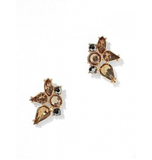 Faux-Stone Cluster Post Earring New York & Company