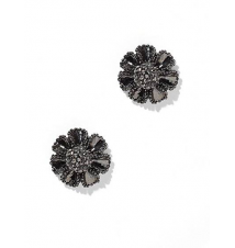Pave Floral Post Earring New York & Company