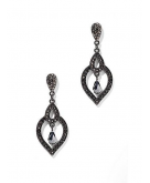 Pave Teardrop Dangle Earring N..