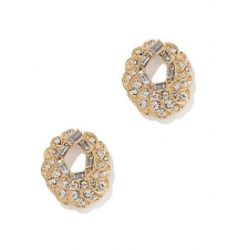Pave Swirl Post Earring New York & Company