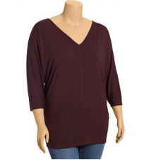 Women's Plus Jersey V-Neck Tunics Old Navy