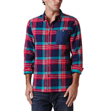 Modern Amusement Drop Tail Long Sleeve Woven Shirt PacSun