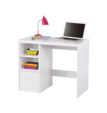 Leslie Desk, White OfficeMax