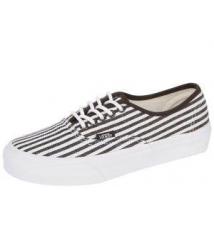 Authentic Slim Hickory Stripes Black Robert Wayne Footwear