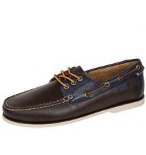 Bienne II Dark Brown Newport Navy Robert Wayne Footwear