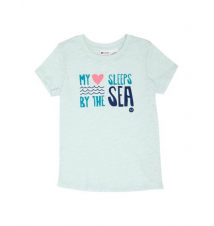 Girls 2‑6 Sea Sleeper Tee Roxy