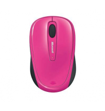 Microsoft Wireless Mobile Mouse 3500, Magenta Pink OfficeMax