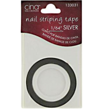 Cina Silver Nail Striping Masking Tape Sally Beauty