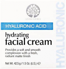 Living Source Hyaluronic Acid Hydrating Facial Cream Sally Beauty