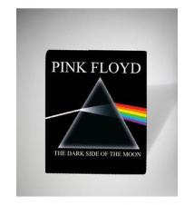 Pink Floyd Darkside Fleece Blanket Spencer's