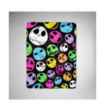 Nightmare Before Christmas Neon Jack Fleece Throw Spencer's