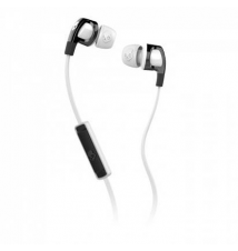 Skullcandy Smokin' Bud 2 Earbuds with Mic - Black / White / White Sport Chalet