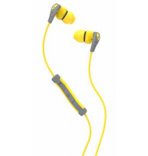 Skullcandy Method Earbuds - Yellow/Gray/Yellow Sport Chalet