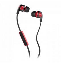 Skullcandy Smokin' Bud 2 Earbuds with Mic - Black / Red / Red Sport Chalet