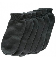Kids' (6 pk) Quarter Socks - Sizes 3 - 6 Payless