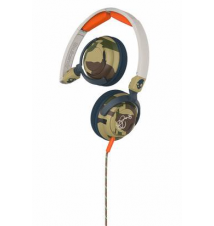 Skullcandy Lowrider Headphones - Camo/Bone/Slate Sport Chalet