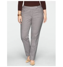 Heritage Check Ankle Pants Talbots