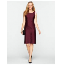 Doupioni Sheath Talbots