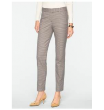 Signature Check Ankle Pants Talbots