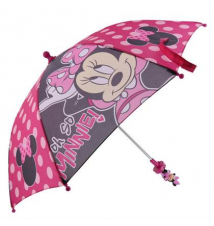 Girls' Minnie Mouse Dots Umbrella Payless