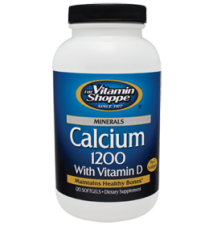 Calcium 1200 With Vitamin D (1200 MG) The Vitamin Shoppe