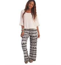 Paisley Stripe Palazzo Pants The Wet Seal