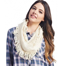 Solid Distressed Eternity Scarf The Wet Seal