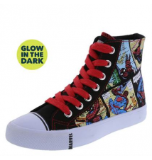 Boys' Spider-Man Comic Glow High Top Payless